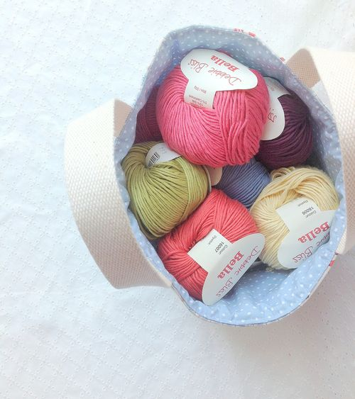 Yarn basket 10